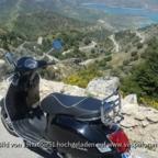Bergstrasse von Grazalema nach Zahara - Andalusien/Spanien -Vespa GTS 300